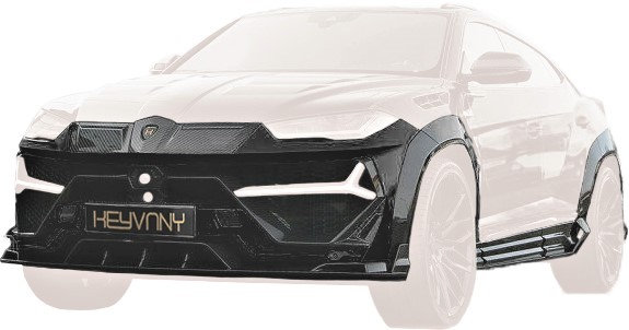 KEYRUS CARBON FIBRE WIDE BODYKIT