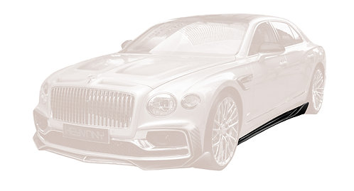 FLYING SPUR CARBON FIBRE SIDE SKIRTS