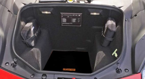 F8 TRIBUTO  EXCLUSIVE BOOT MATS