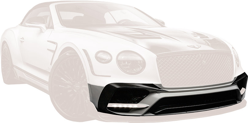 CONTINENTAL GT-GTC CARBON FIBRE FRONT BUMPER