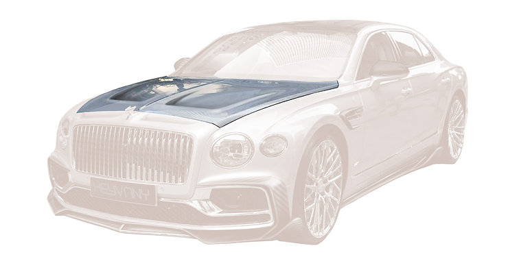 FLYING SPUR CARBON FIBRE ENGINE BONNET