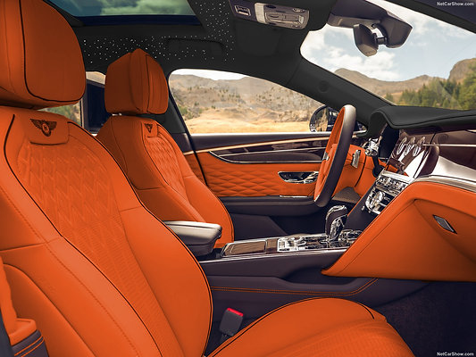 FLYING SPUR INDIVIDUAL LEATHER DESIGN COMPLETE REFINED INTERIEUR