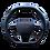 Thumbnail: RS 6 KEYVANY STEERING WHEEL CARBON FIBRE/LEATHER PREFORMANCE