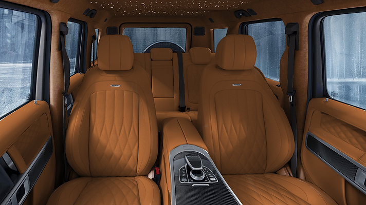 G WAGON  INDIVIDUAL LEATHER DESIGN COMPLETE REFINED INTERIEUR, BY EXCLUSIVE