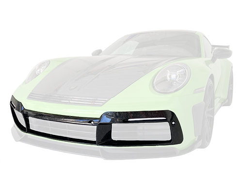 PORSCHE 992 GTR CARBON FIBRE FRONT BUMPER ADD ON MASK