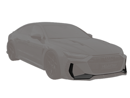 RS 7 CARBON FIBRE FRONT BUMPER WITH AIR INTAKE HOUSING