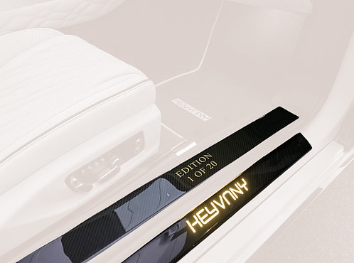 CONTINENTAL GT-GTC CARBON FIBRE DOOR SILL GUARDS