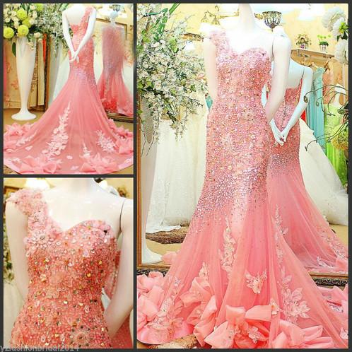 adf40829907f YZ Luxury Crystal Bright Diamond Sexy Dresses