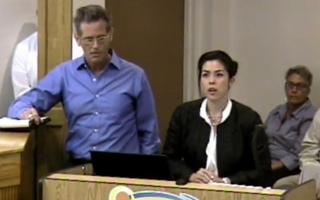 Presenting a project for annexation to the Punta Gorda City Council (Image from City of Punta Gorda)