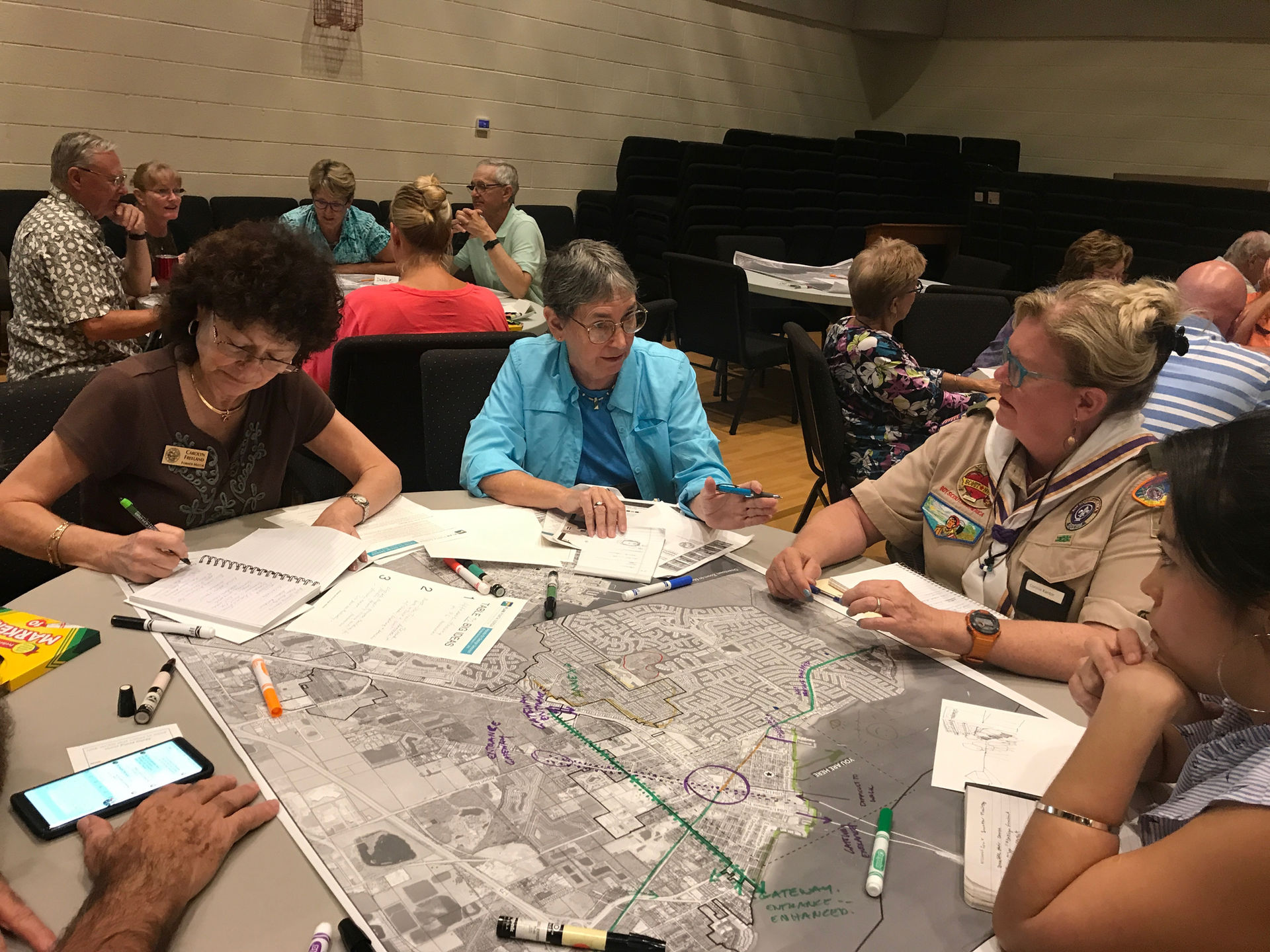 Participating in the 2019 City of Punta Gorda Masterplan design charettes