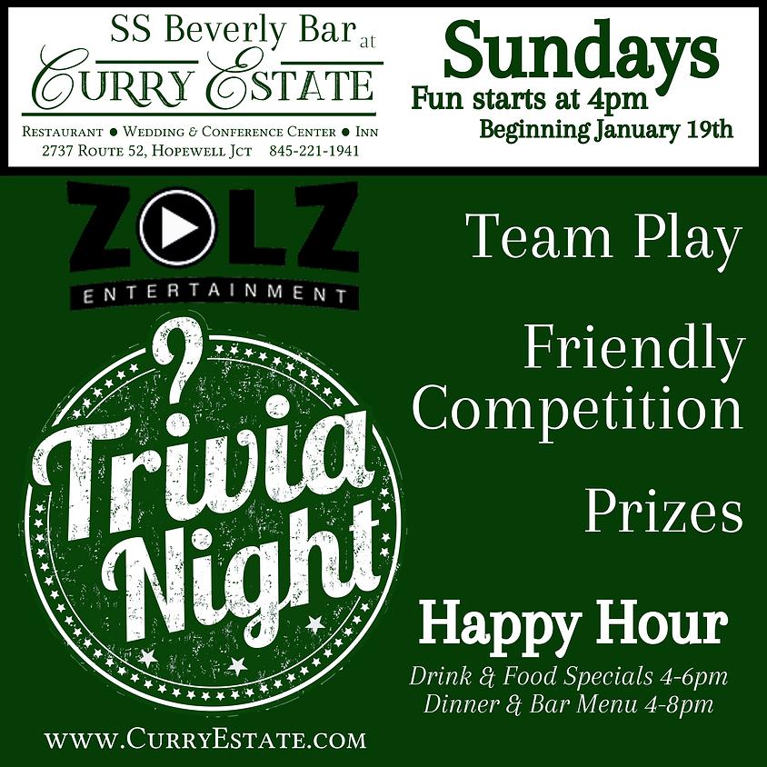 Trivia Sunday Funday 2/23