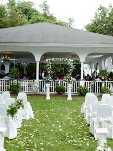 pavilion white chairs outside pavilion.j
