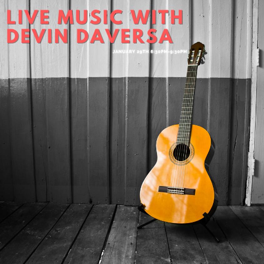 Live Music with Devin Daversa