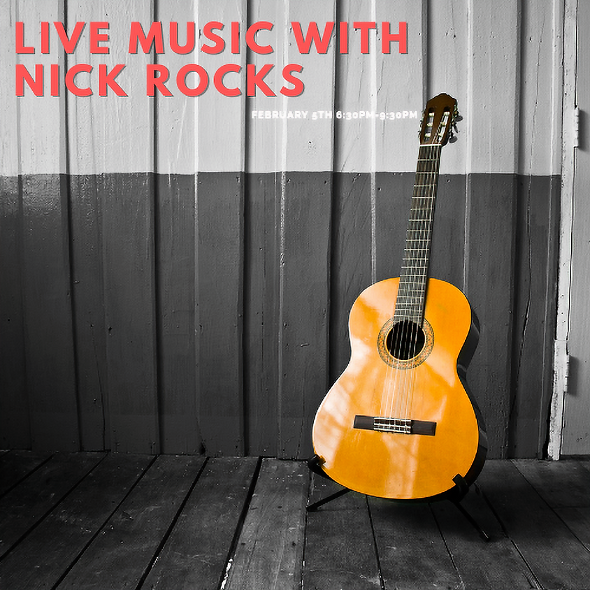 Live Music with Nick Rocks