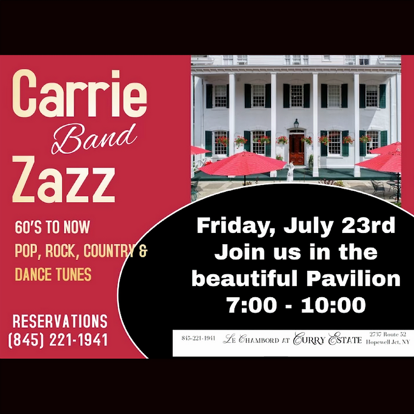 Live Music with The Carrie Zazz Band