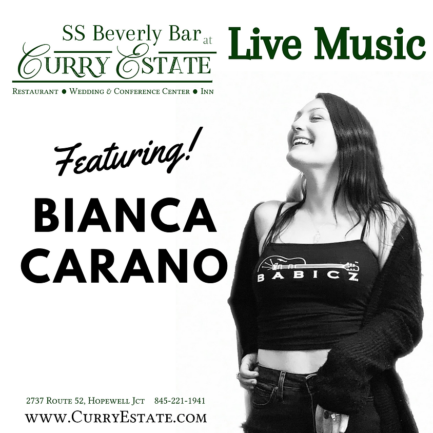 Live Music with Bianca Carano