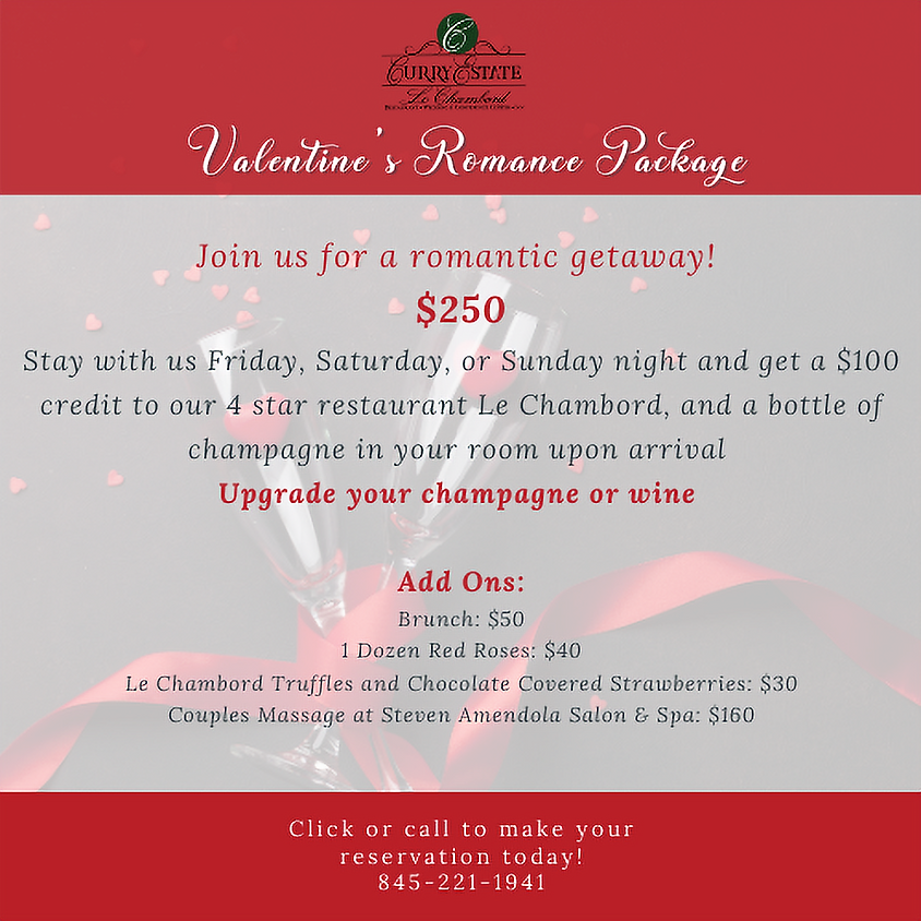 Valentine's Day Romance Package