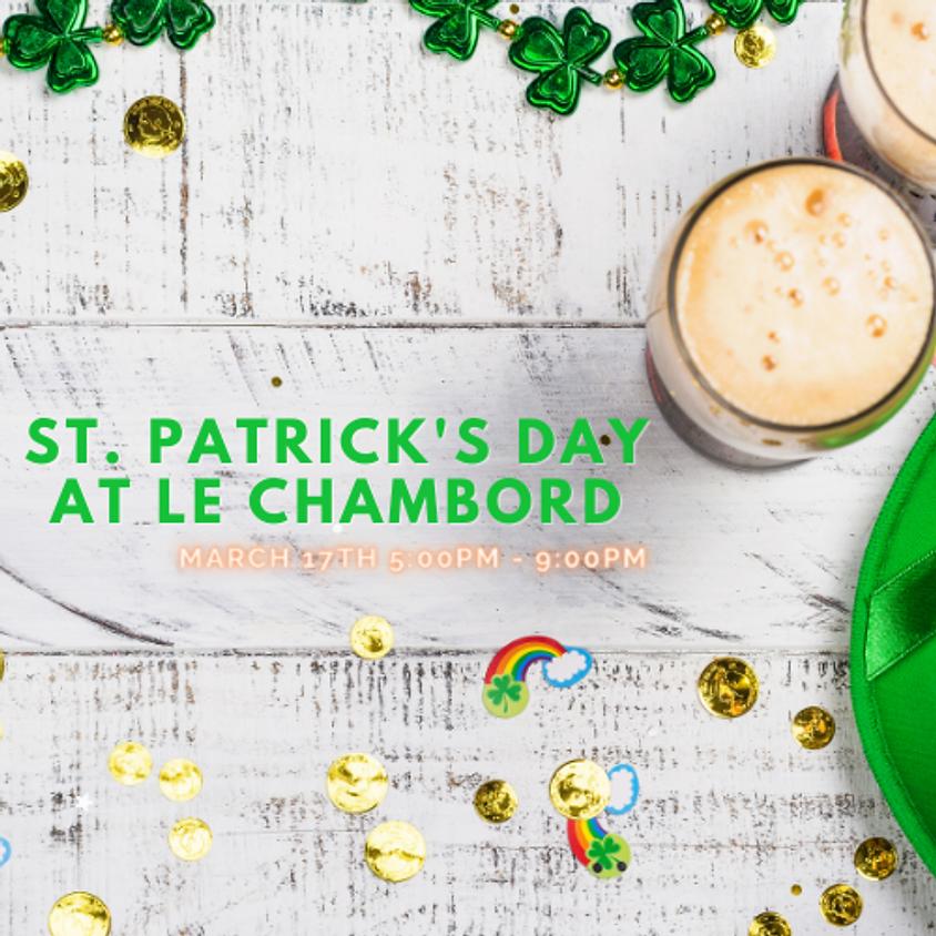St. Patrick's Day at Le Chambord