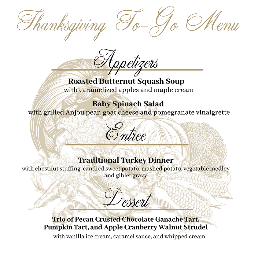 To Go Thanksgiving Dinner