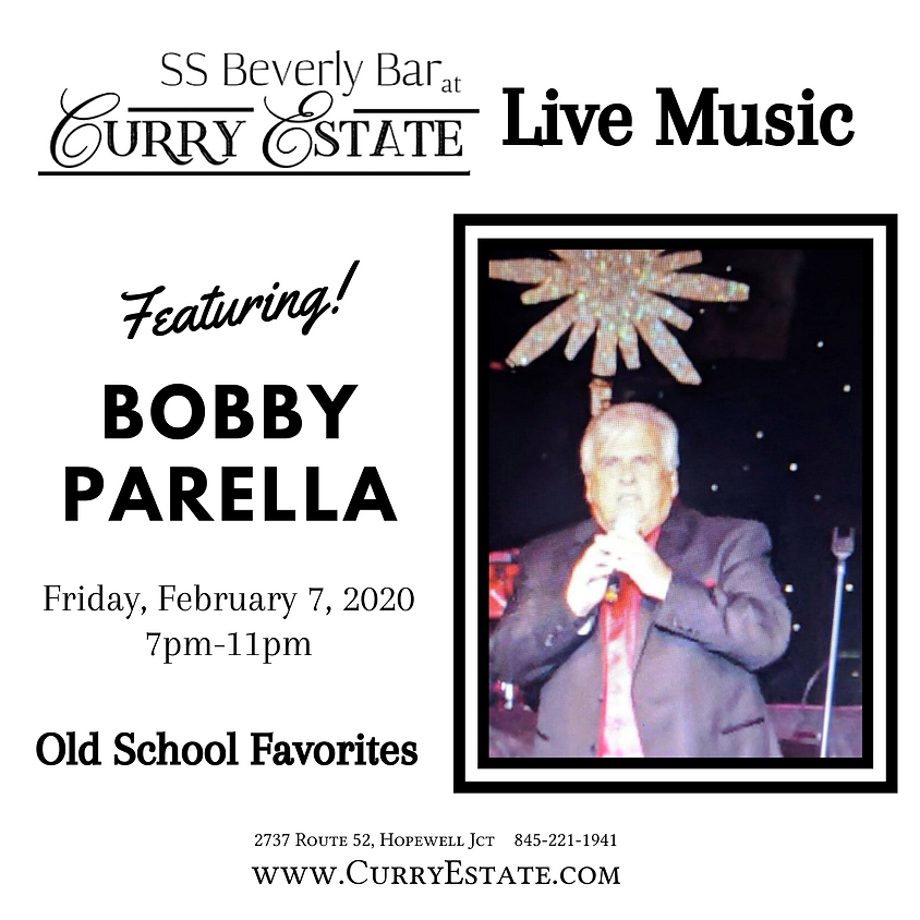 Live Music Featuring Bobby Parrella
