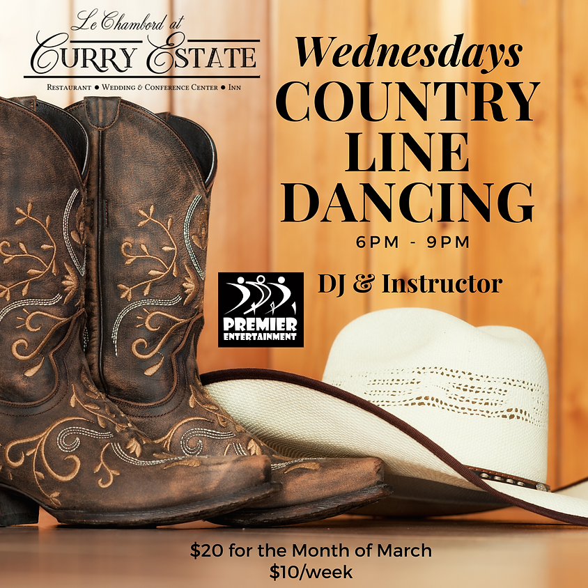 Country Line Dancing 3/18/20
