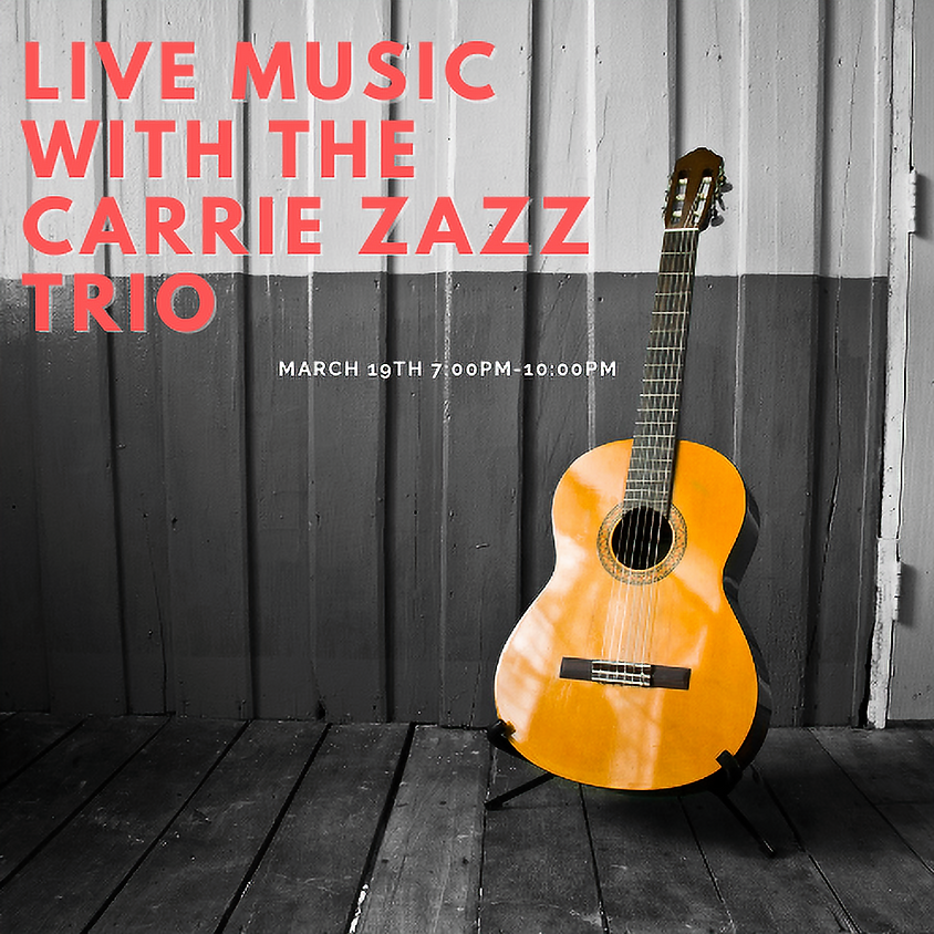 Live Music with The Carrie Zazz Trio