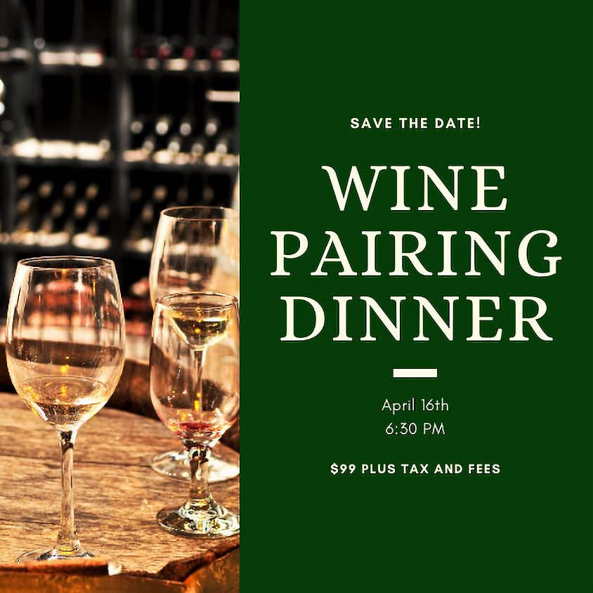 Wine Pairing Dinner at Le Chambord