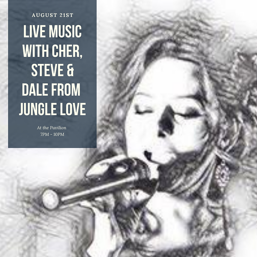 Live Music with Cher, Steve, and Dale from Jungle Love
