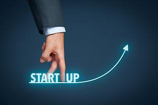 Startup in progress concept. Successful
