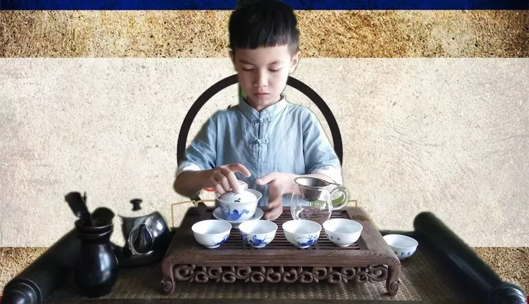 Children Tea Art Training