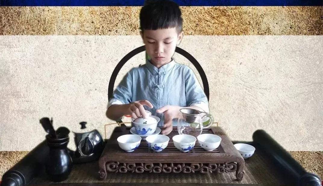 Children Tea Art Training