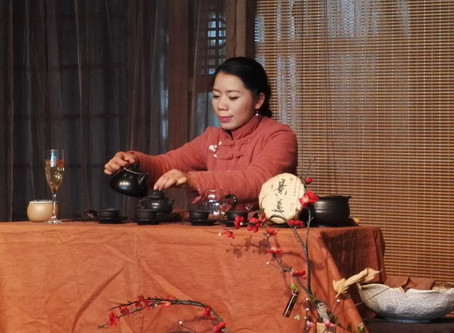 Puerh Tea Ceremony(Puer and JS Pottery: between Lovers and Close Friends)