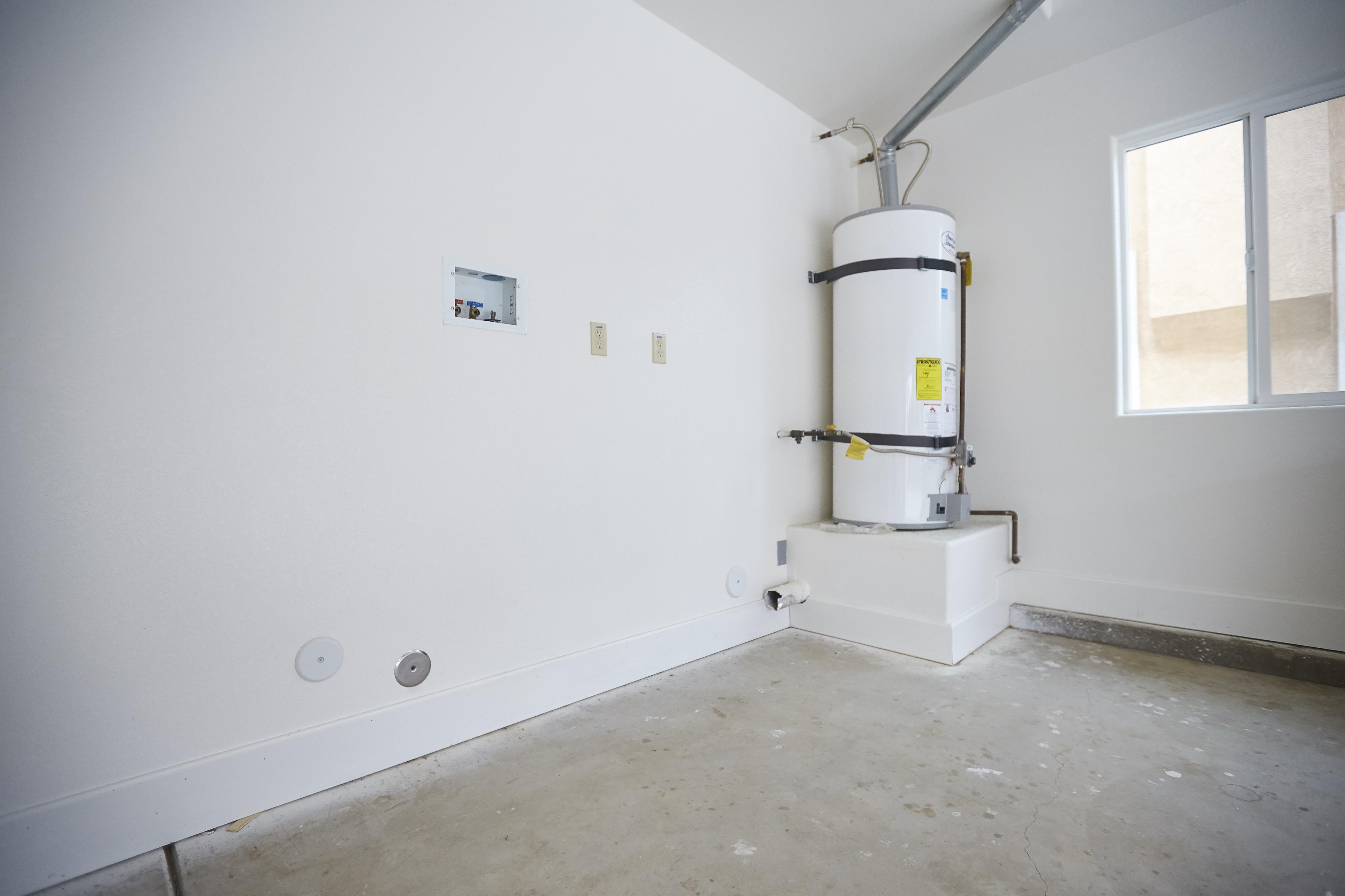Water heater & Laundry