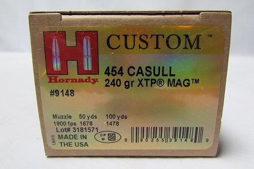 454 Casull Hornady 240gr XTP Mag 20 Round Box