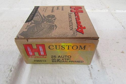 25 Auto 35gr XTP Hornady .25 ACP 25ACP