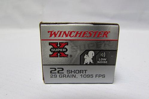 22 Short Winchester 29gr LRN 50 Round Box
