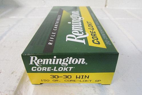 30-30 Win Remington 150gr. CORE-LOKT S.P.