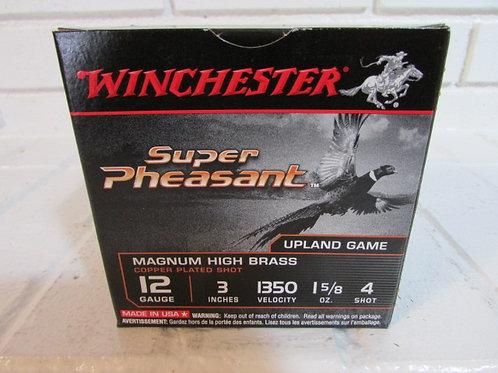 Winchester Super Pheasant 12ga 3 Inch 1-5/8 O
