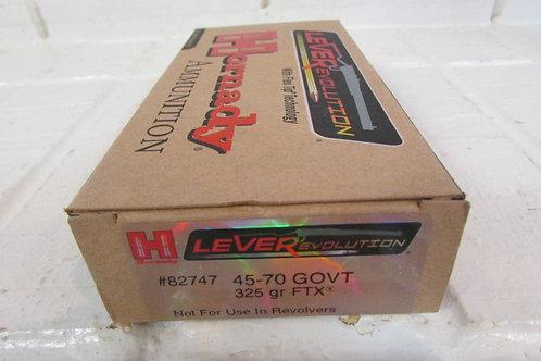 45-70 GOVT 325gr Hornady FTX