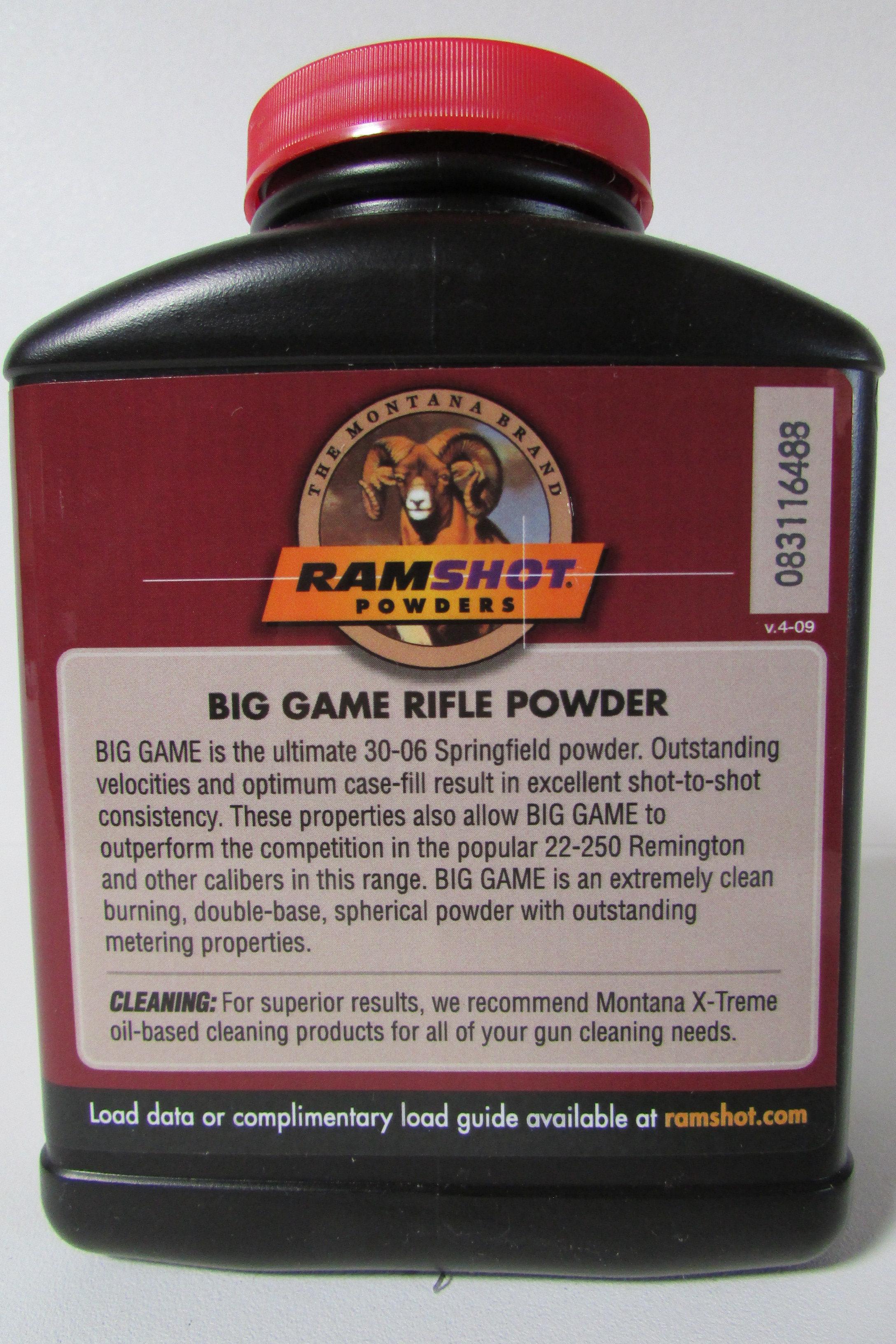 RamShot Powder Big Game 1lb