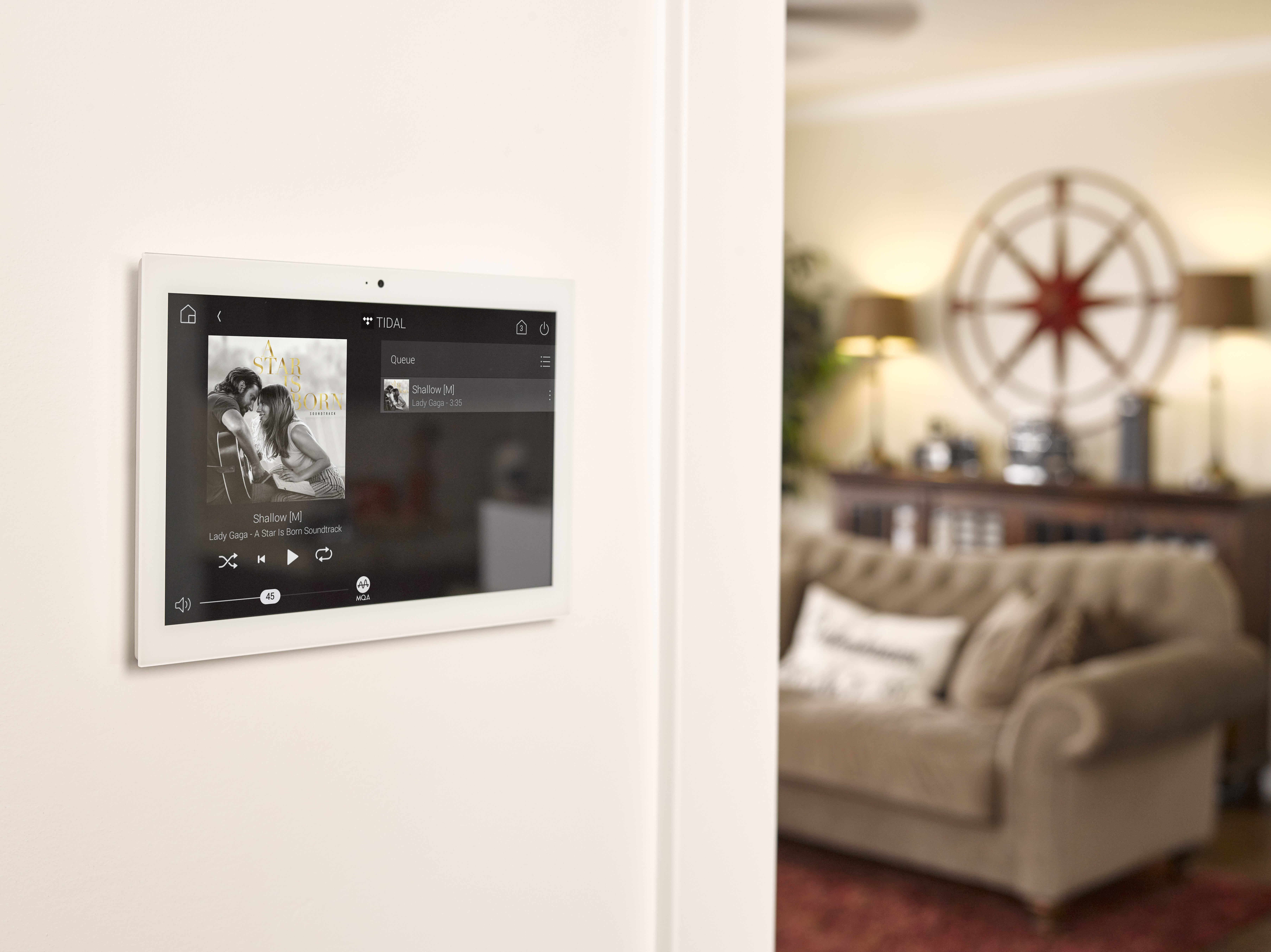 "In-Wall 10"" Touch Screen"