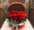 caja de rosas San Valentín