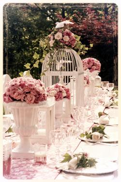 Decoración Floral Boda Romántica