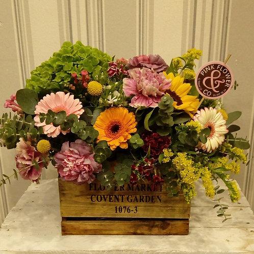 Caja de Flor de Temporada