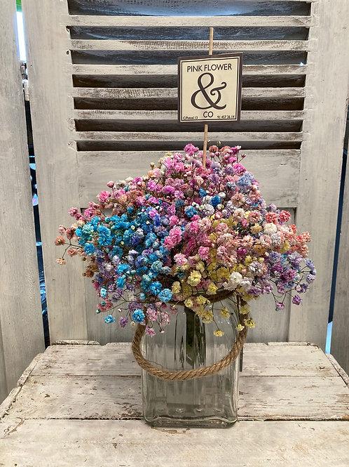 Jarra con Paniculata Multicolor