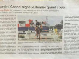 Article Ouest France 11 juin 2017