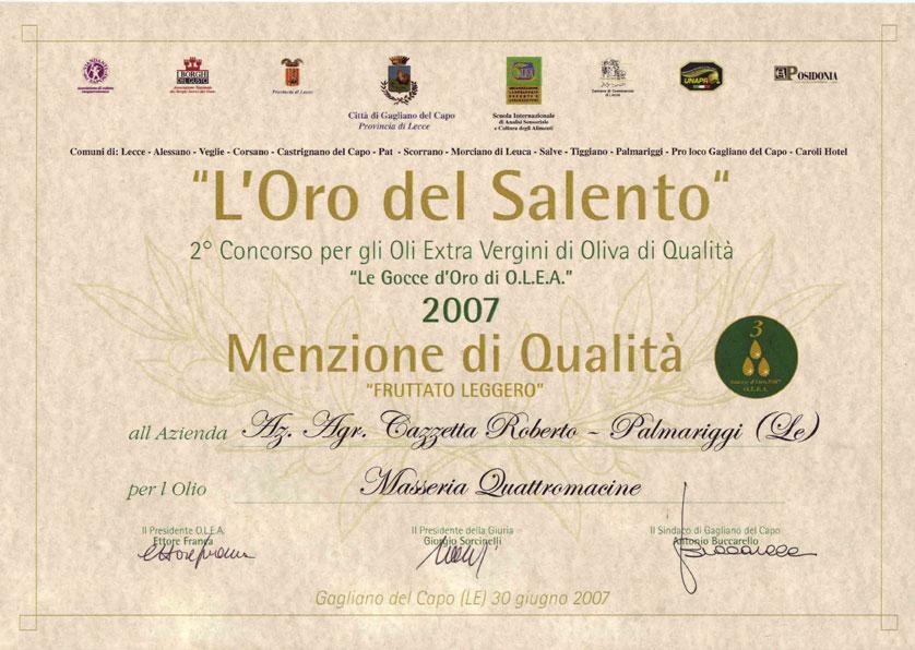 2007-Quattromacine_Menzione