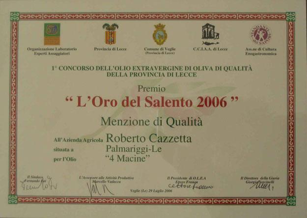2006-Quattromacine_Menzione