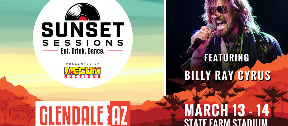 Mecum Presents Sunset Sessions with Headliners Lifehouse and Billy Ray Cyrus, March 13-14, 2020