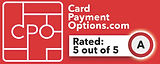 5 Star Rating by Card Payments Options